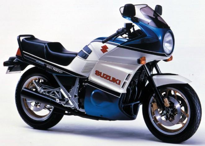 Suzuki øady GS a GSX 1977 - 2015