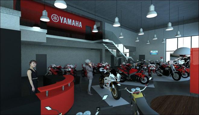 Yamaha PEMM staví nové motocentrum v Brnì