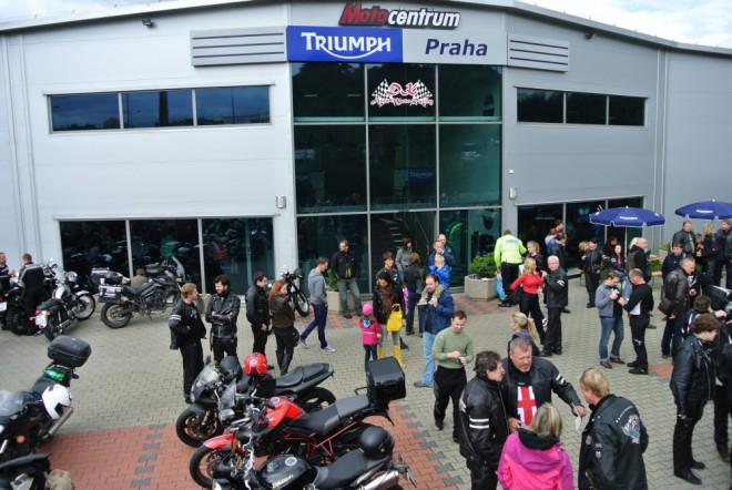 Sraz motocyklù Triumph již tento víkend