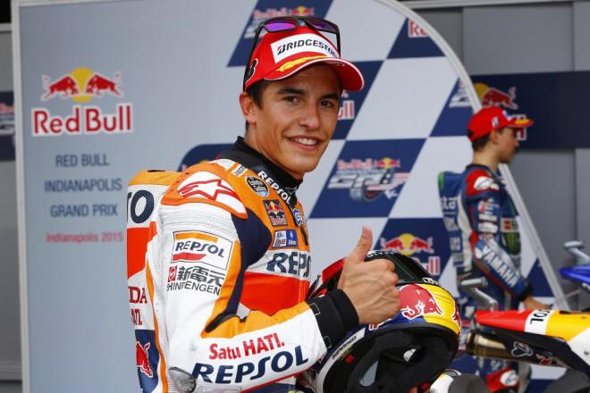 GP Indianapolisu – Vyhrál Márquez, lídrem zùstává Rossi