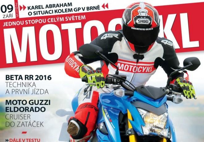Motocykl 9/2015