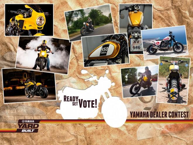 Yamaha pøizvala do projektu Yard Built své dealery