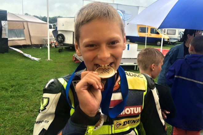 Mistrem Evropy je Vostatek, nejmladší šampion v historii