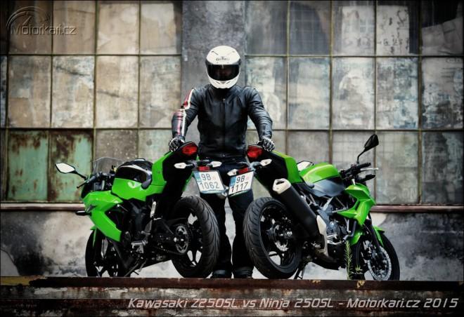 Kawasaki Ninja 250SL vs Z 250SL: Zed vypráskal Ninju!