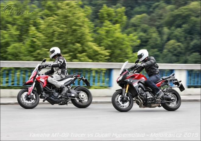 Yamaha MT-09 Tracer vs Ducati Hyperstrada