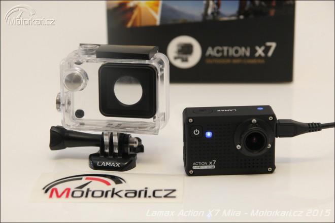 Lamax Action X7: kamera nejen na motorku