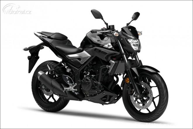 Yamaha MT-03 potvrzena