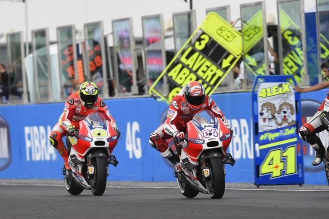 Domácí Grand Prix Ducati pøíliš nevyšla