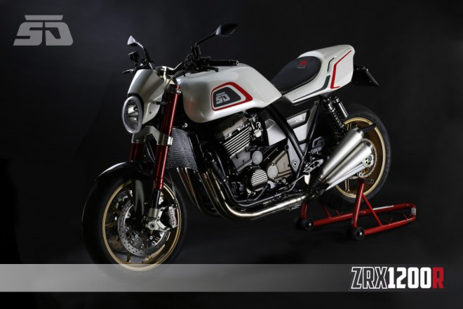Kawasaki ZRX1200 by Škoda Design
