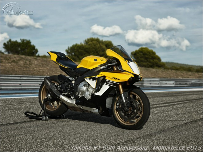 Yamaha R1: limitovaná edice 60th Anniversary