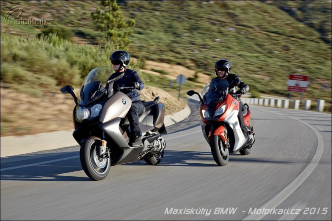 BMW vylepšuje své maxiskútry