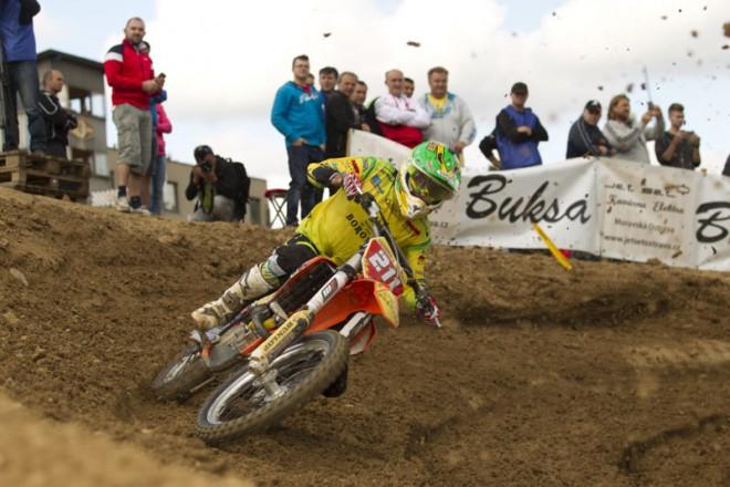 Napínavý závìr motokrosové sezony ve Vranovì
