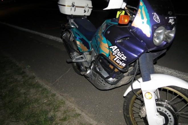 Nehodou na motorce mùže vše jen zaèít