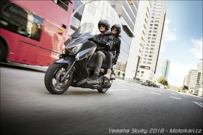 Yamaha rozšiøuje nabídku skútrù o další verze Iron Max