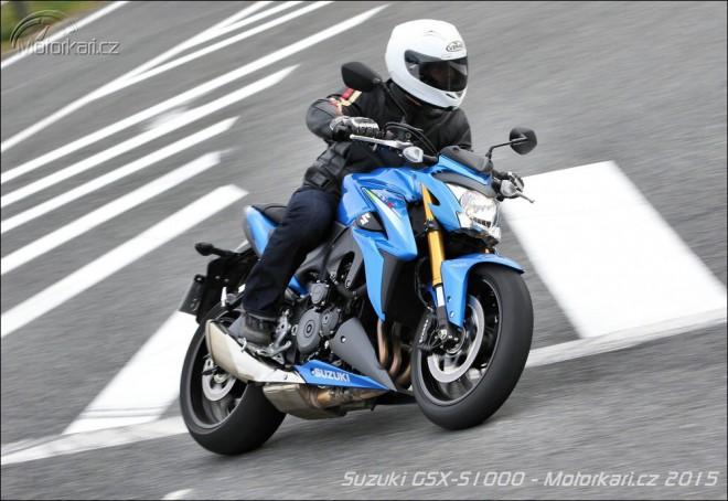 Suzuki GSX-S1000 do každé rodiny