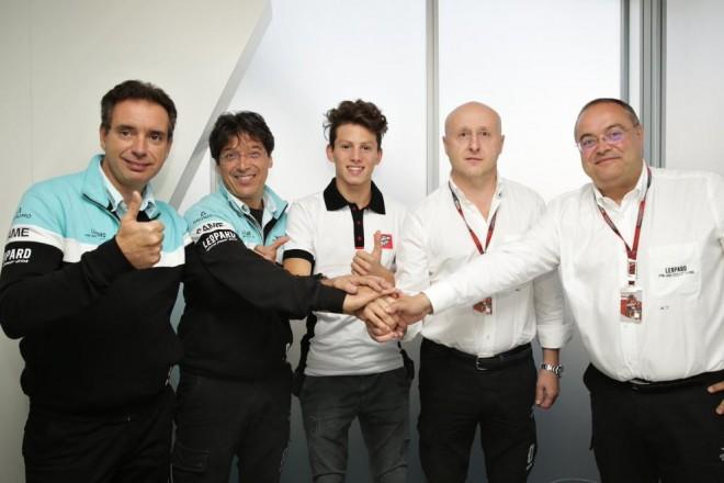 Ital Locatelli v roce 2016 v barvách týmu Leopard Racing