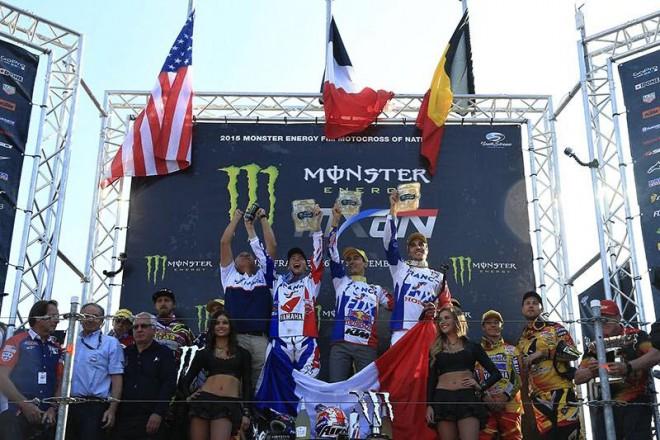 MXoN 2015: Motokros národù vyhráli Francouzi