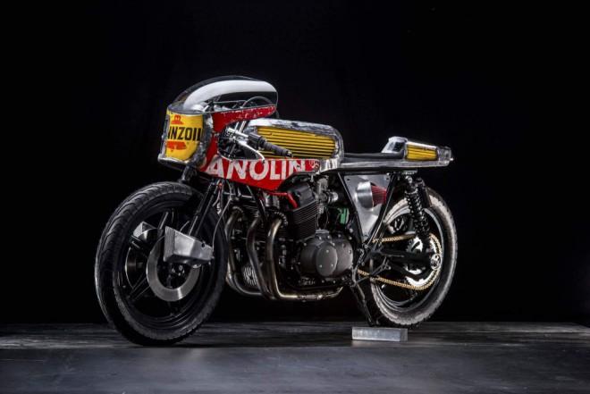 Neotøelá Honda CB750 od Vibrazioni Art Design