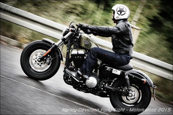 Harley-Davidson Forty-Eight: Styl až na druhém místì!