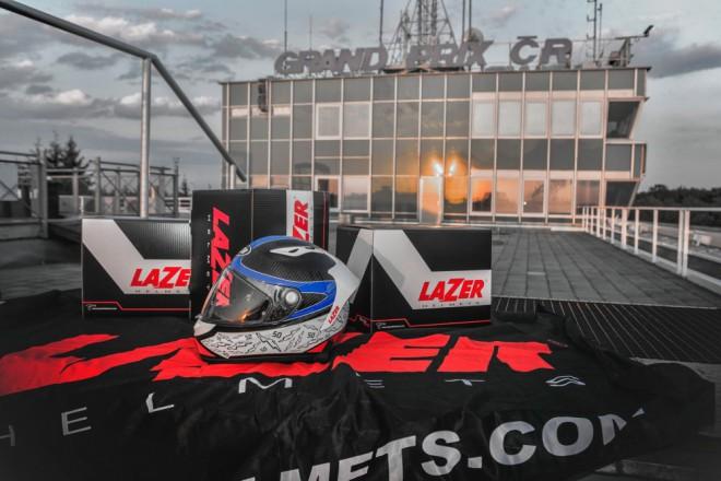Lazer pøiveze výroèní repliku a novinky 2016 na Motoshow Rekord