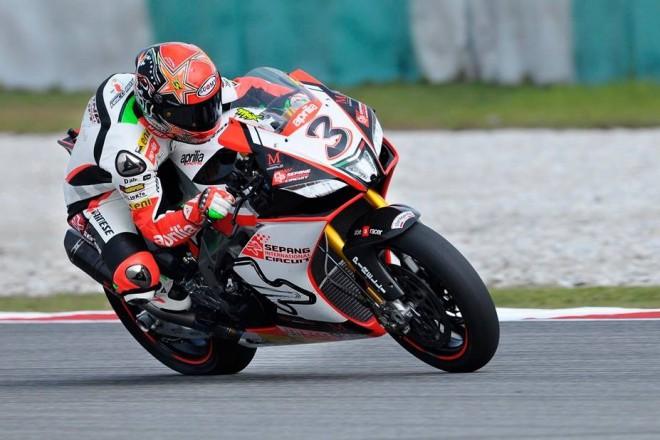 Max Biaggi testuje v Kataru, kde bude za týden závodit