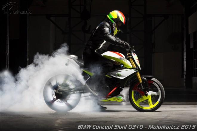 BMW p�edstavuje Concept Stunt G 310