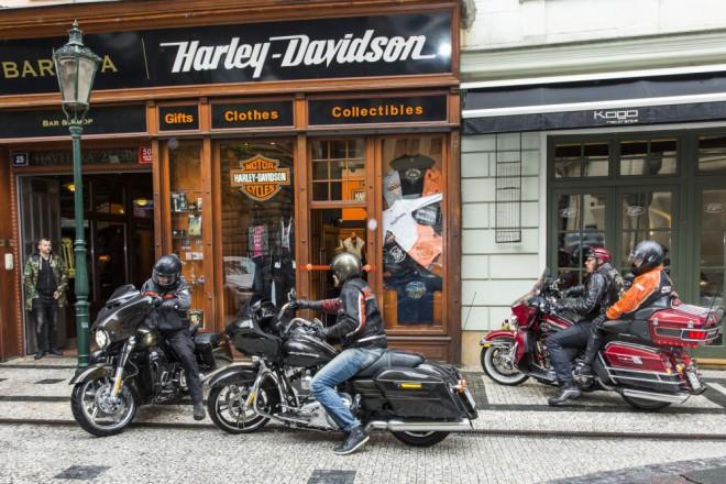 Harley-Davidson otevírá nový shop v centru Prahy