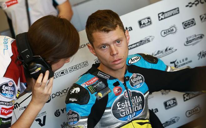 Esteve Rabat odstoupil z japonské Grand Prix