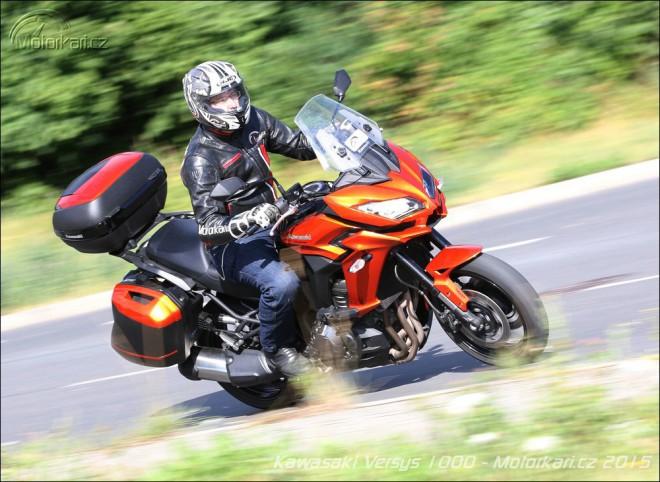 Kawasaki Versys 1000: vše, na co si troufnete