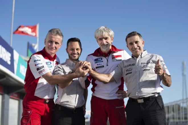 T�m Aspar ozn�mil n�vrat k italsk� Ducati