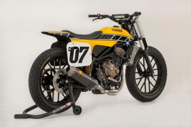 Yamaha p�edstavila koncept DT-07 Flat Tracker