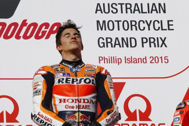 M�rquez z�skal na Phillip Islandu pades�t� v�t�zstv� v z�vodu Grand Prix