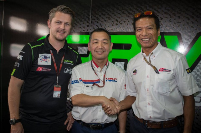 Tým Drive M7 SIC Racing od roku 2016 s Hondou