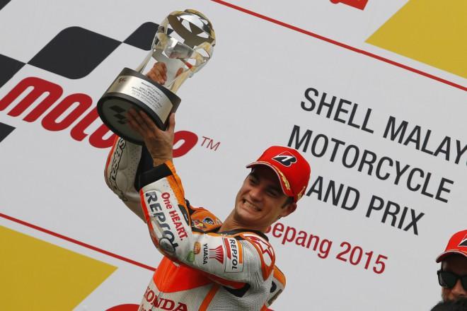 GP Malajsie � Z�vod vyhr�l Pedrosa, Rossi kolidoval s M�rquezem