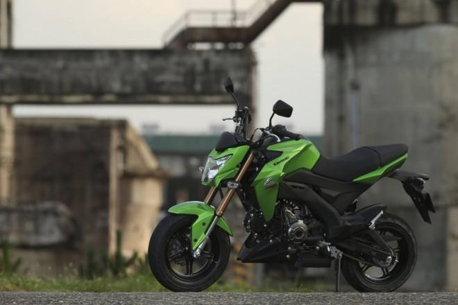 Kawasaki Z125: malá motorka na dvanáctkách