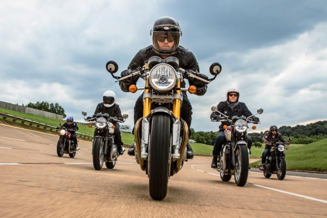 Triumph uvedl zcela novou øadu Bonneville