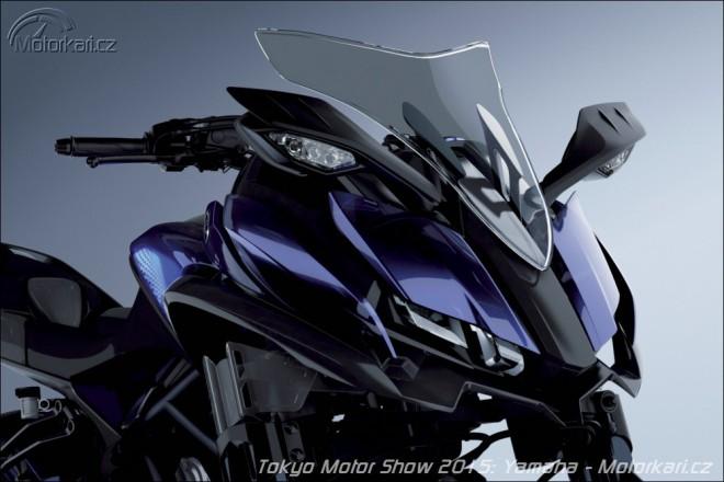 Koncepty Yamaha: futurismus i retro
