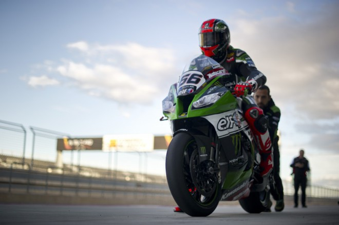 První test jela Kawasaki spoleènì s Ducati v Aragonii