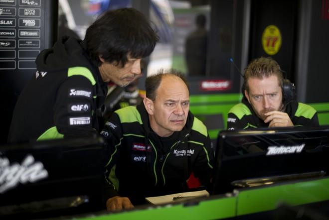 V Jerezu už Kawasaki testovala v kompletní sestavì
