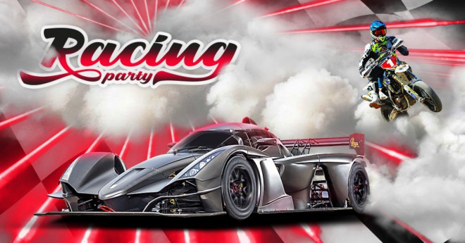 Racing Party se bl��!