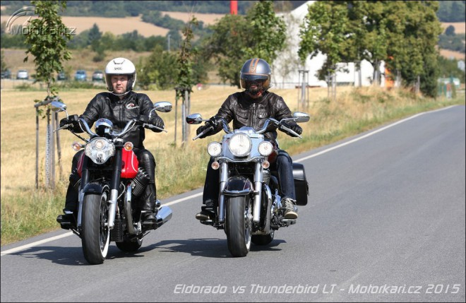 Moto Guzzi Eldorado vs Triumph Thunderbird LT