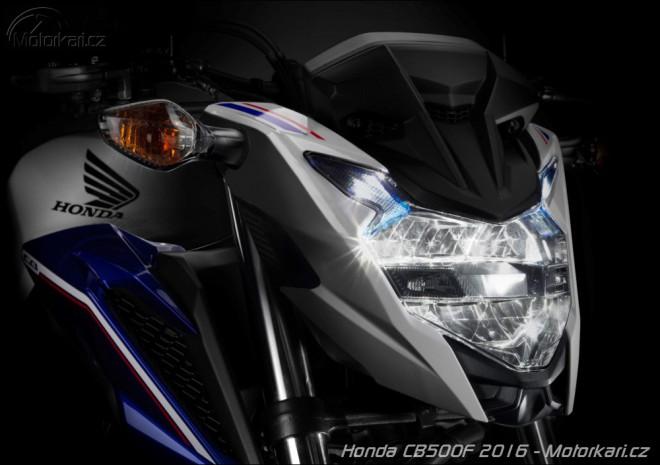 Honda 2016: nové CB500F, NC750S a Integra