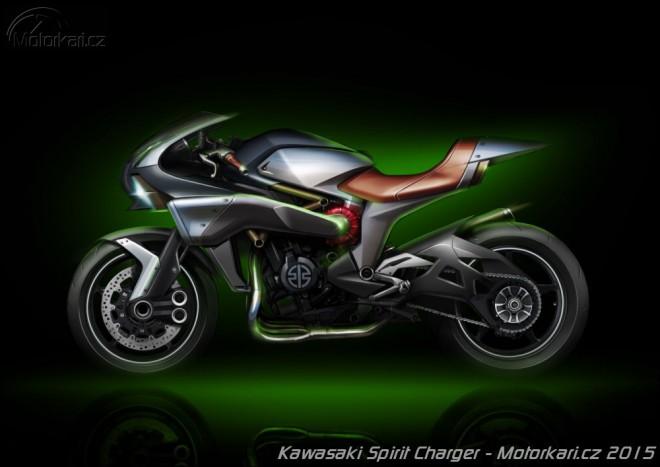 Spirit Charger: další Kawa s kompresorem