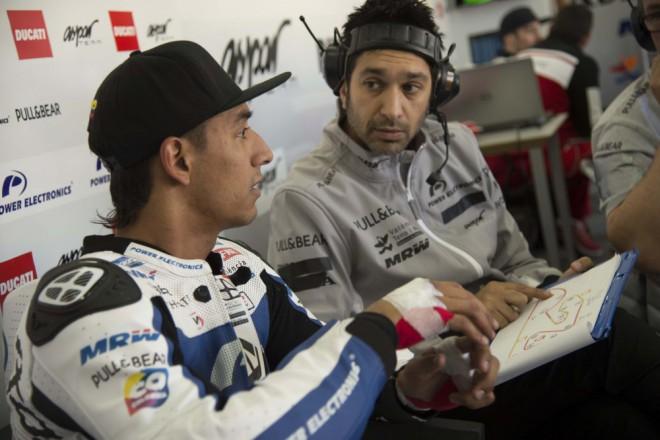 Tým Aspar testoval ve Valencii poprvé s Ducati
