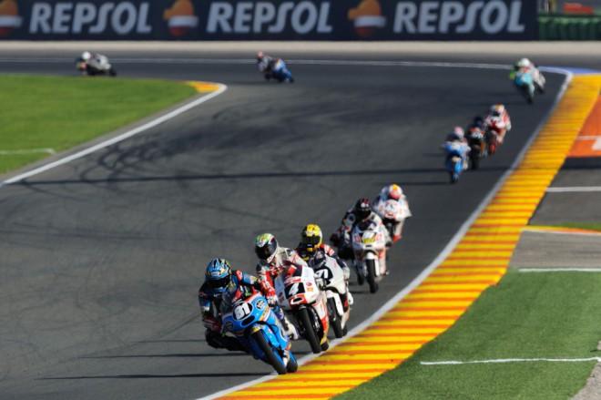 Poslední pole position sezony vybojoval Bulega, Vierge a Pietri