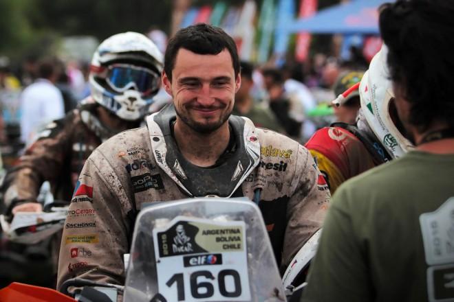 Ve støedu pøedstaví Ondøej Klymèiw tým a techniku pro Dakar 2016