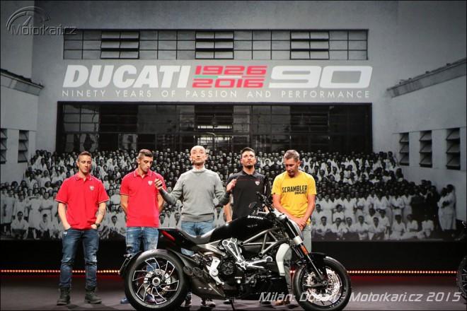 Ducati XDiavel, Scrambler Sixty2 a další novinky