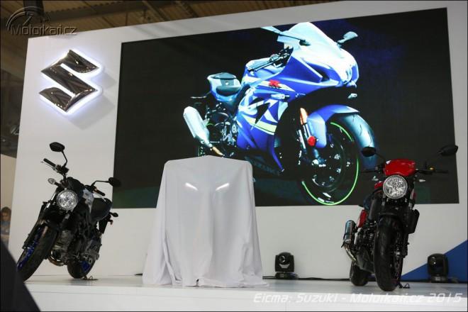 Eicma: nová Suzuki GSX-R 1000 Concept a SV 650