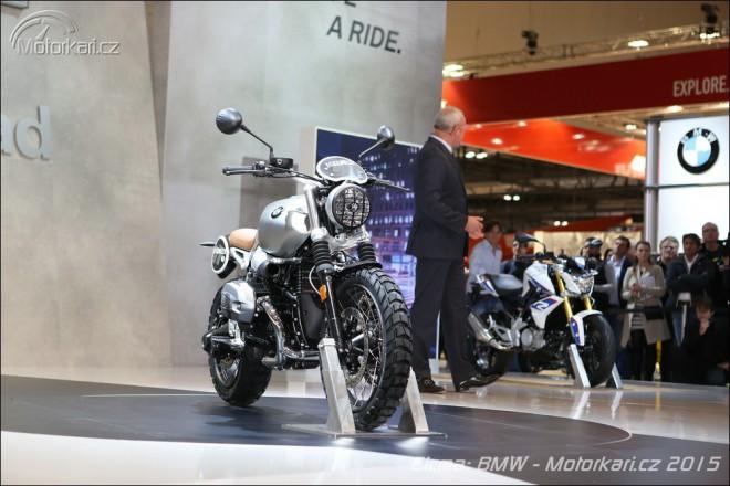 BMW v Milánì odhaluje R nineT Scrambler
