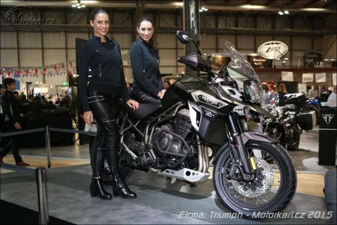 Eicma: Triumph pøedstavil nový Tiger Explorer 1200
